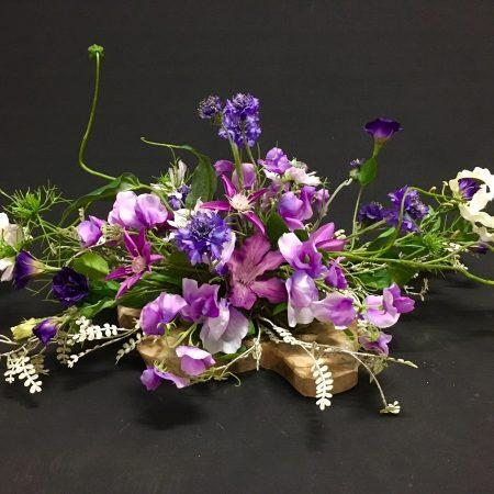 Zijdebloemen-ovaal-tafelstuk